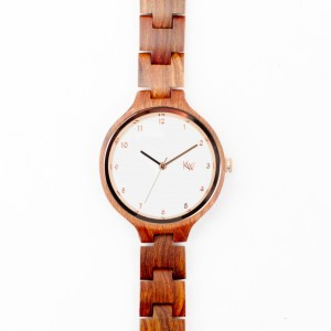 Kate-Wood-rosewood-watch-Paris-wooden-watch-for-women-white-face-and-rose-gold-details-front-1